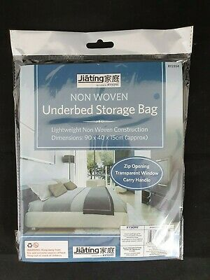 Underbed Clothes Bedding Laundry Storage Bag Large Non-woven Zipped Light Weight • 2.89£