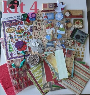 Christmas Bundle - Job Lot Craft Room Clear Out - Card, Crafts & Scrapbooking • 7.97£