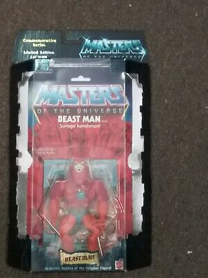 $55.99 • Buy 2000 Mattel Masters Of The Universe Commerative Series Beast Man Figure