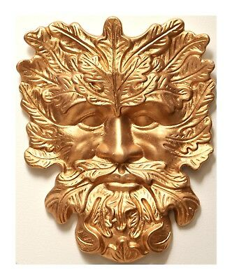 £9.99 • Buy Green Man/ Wall Plaque - Pagan/Wicca/New Age For Outside Or Indoor
