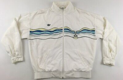 Ivan Lendl 1987 1988 The Face Adidas Tennis Track Top Jacket Vintage 1980s L • 191.35£