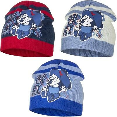 Baby Mickey Mouse Boys Girls Toddler Winter Hat • 4.99£