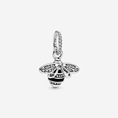 Pandora -Queen Bee -CHARM /Pendant-STERLING SILVER 925+Gift Bag &Pouch-CPAN201 • 18.99£