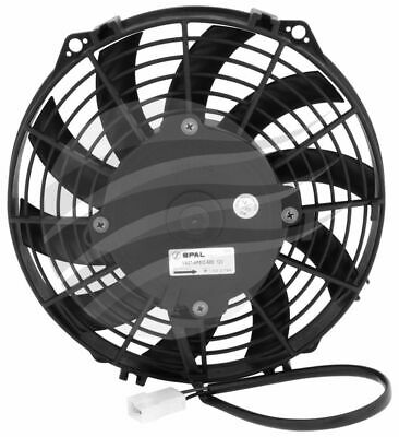 AU155.95 • Buy SPAL THERMO FAN 9 Inch (225MM) PUSHER ELECTRIC 12V 590 CFM SKEW BLADE