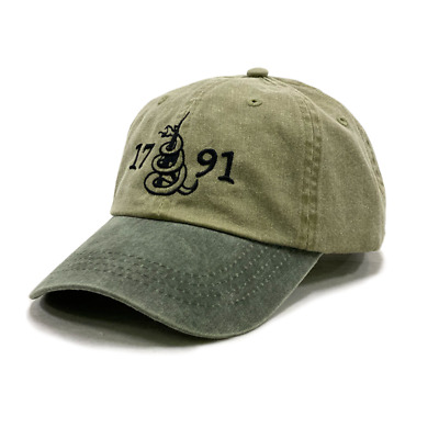 $ CDN17.88 • Buy 2A The Second Amendment 1791 Pigment-Dyed Hat