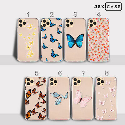 AU10.99 • Buy Butterfly Cute TPU Soft Girls Women Phone Case For IPhone 12 11 Pro Max 7 8 Plus