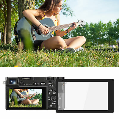$ CDN14.50 • Buy Display Screen Protective Film With Anti‑Glare Frame For Sony A6000/A6400 Camera