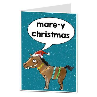 £2.99 • Buy Horse Christmas Card