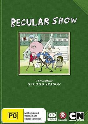 REGULAR SHOW - SEASON 2 +Region 4 DVD+ • 20.49£