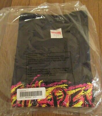 $ CDN129.20 • Buy Supreme Scratch Tee T-Shirt Size Large Black FW20 Supreme New York New 2020
