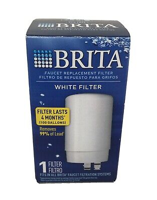 Brita Tap Water Faucet Replacement Filter WHITE FILTER FR-200 NEW • 12.45£