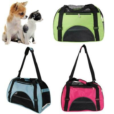 Pet Dog Cat Portable Travel Carry Carrier Tote Cage Bag Crates Kennel • 9.19£