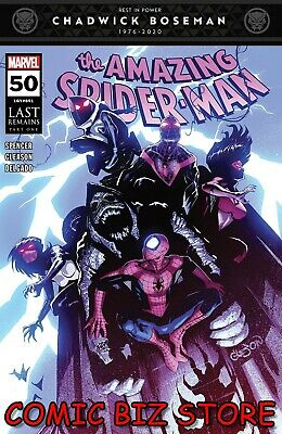 Amazing Spider-man #50 (2020) 1st Printing Gleason Main Cover Marvel ($5.99) • 4.99£