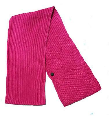 £6.99 • Buy Adidas Chunky Knit Scarf Womens Scarves Pink