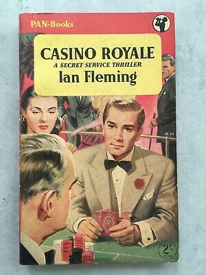 CASINO ROYALE First Edition 2nd Print 1955 EXCELLENT Pan IAN FLEMING James Bond • 120£