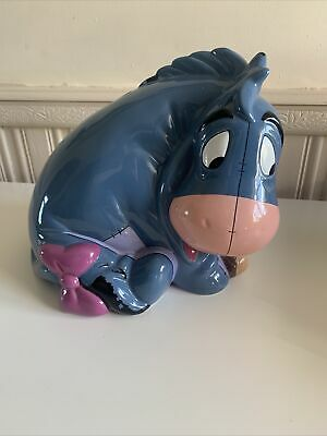 Disney Winnie The Pooh Eeyore Large Ceramic Money Box  • 15£