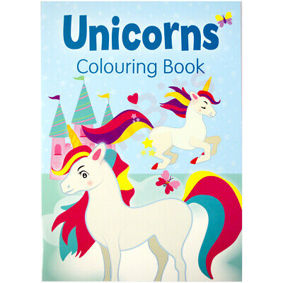 £2.80 • Buy Unicorn Colouring Book Kids Girls Fun Activity Pad Large A4 Size Painting Draw