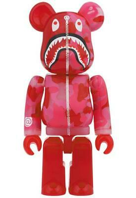 $2299.99 • Buy BE@RBRICK BAPE(R) CLEAR ABC CAMO SHARK Pink Ver. 1000% From JPN [New + Tracking]