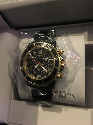 £1500 • Buy André Belfort Sirene Gold Black Automatic Model:AB-7110