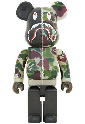$2899.99 • Buy BE@RBRICK BAPE(R) CLEAR ABC CAMO SHARK Green Ver 1000% From JPN [New + Tracking]