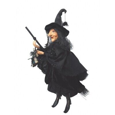Witches Of Pendle - Alice Nutter Witch Flying (Black) 50cm FREE P&P • 45£