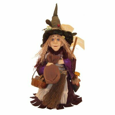Witches Of Pendle - Amelia Witch Standing (Purple) 24cm FREE P&P • 24£