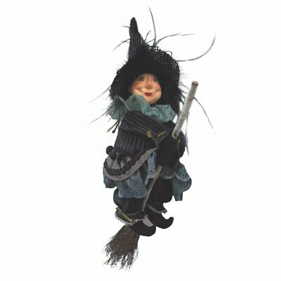 Witches Of Pendle - Anne Redfearn Witch Flying (Grey) 24cm FREE P&P • 17.95£