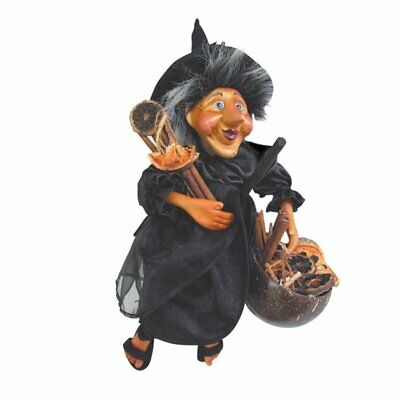Witches Of Pendle - Demdike Witch Flying (Black) 32cm FREE P&P • 24.95£