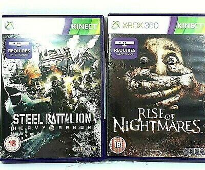 £29.99 • Buy Rise Of Nightmares Steel Battalion XBOX 360 VIDEO GAMES Requires Kinect Sensor