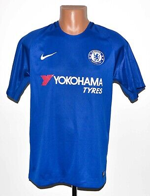 Chelsea London 2017/2018 Home Football Shirt Jersey Nike Size M Adult • 44.99£