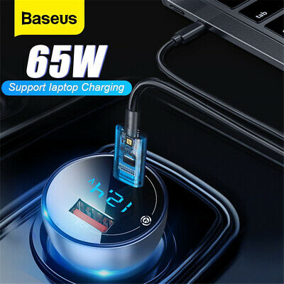 AU20.50 • Buy Baseus Wireless Bluetooth 5.0 Car FM Transmitter Radio Music Adapter USB Charger