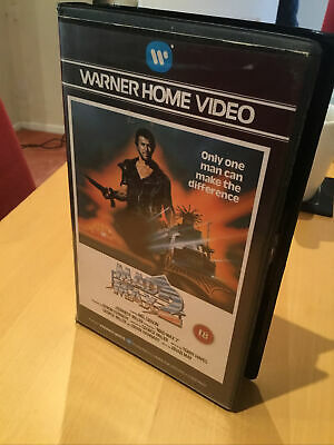 MAD MAX 2 Warner Bros VHS Tape Home Video MEL GIBSON • 29.99£