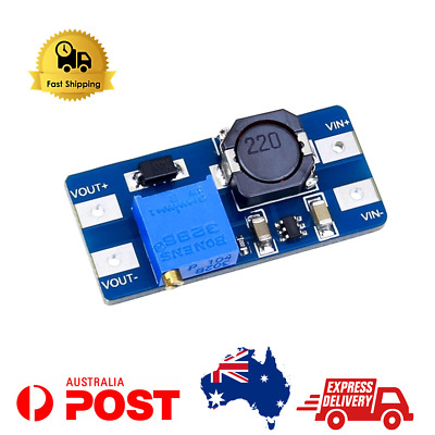 AU9.90 • Buy 5pcs MT3608 DC-DC Step Up Boost Power Supply Module 2V-28V – Fast Shipping