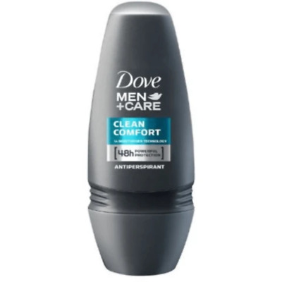 Dove Men+Care Clean Comfort Anti-perspirant Deodorant Roll-On 50ml • 2.24£