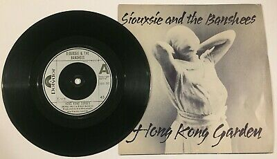 "Siouxsie And The Banshees - Hong Kong Garden / Voices - 7"" Vinyl Record - 1978 • 3£"