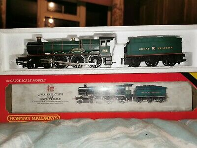 #R761 Hornby Trains 00 Gauge GWR Hall Class 4-6-0 Kneller Hall Vintage Boxed • 14.50£