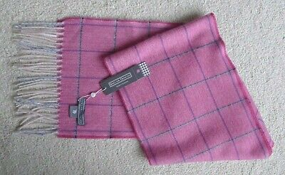 Pure Cashmere Scarf Made In Scotland By Sinclair Duncan BNWT • 49£
