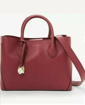 Aspinal Of London The Midi London Leather Tote Bag, RRP £495 - Bordeaux • 245£
