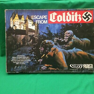 ESCAPE From COLDITZ BOARD GAME  • 48£