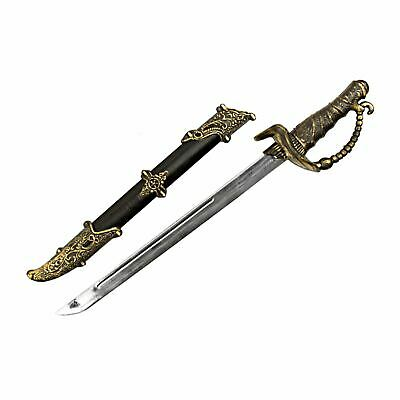 £10.03 • Buy 52cm Steam Punk Pirate Sword With Scabbard Accessory Weapon Toy Pirate Cutlass