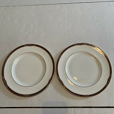 Set (2) Royal Doulton Tennyson Pattern Dinner Plates Made In England Retired • 22.11£