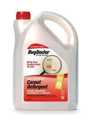 Rug Doctor Carpet Detergent 4 Litre Cleans Deodorises Protects Cleaner • 24.99£
