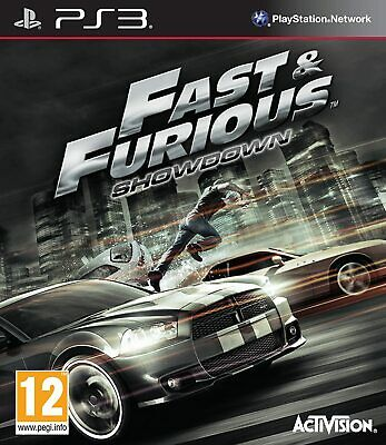 Fast And Furious Showdown | PS3 | Excellent & Fast Dispatch • 18.95£