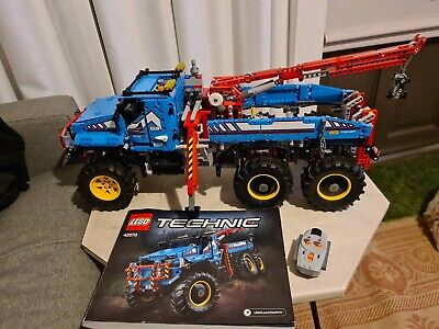AU550 • Buy Retired Lego Technic 42070 Rc 6x6 All Terrain Tow Truck 2in1 +power Functions