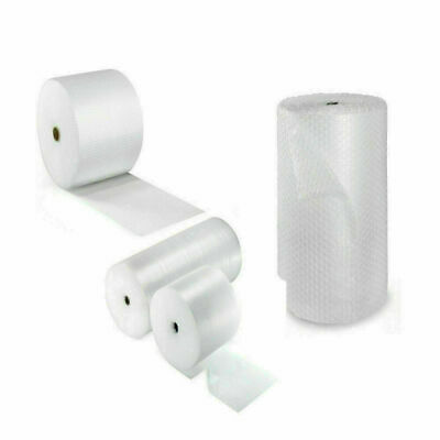 £4.29 • Buy Small & Large Bubble Wrap Recycled Thick Plastic Rolls - 300 / 500 / 600 / 750mm