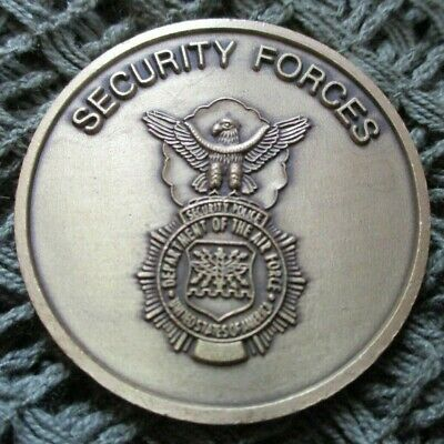 £19.99 • Buy Us Air Force Usaf Security Forces Police Defensor Fortis Challenge Coin #27.