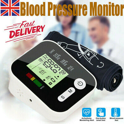 Automatic Blood Pressure Monitor Upper Arm Digital BP Machine With Large Cuff  • 13.98£