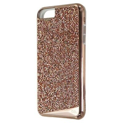 Case-Mate Brilliance Case W/Genuine Crystal For IPhone 7 6s 6 Plus - Rose Gold • 10.36£