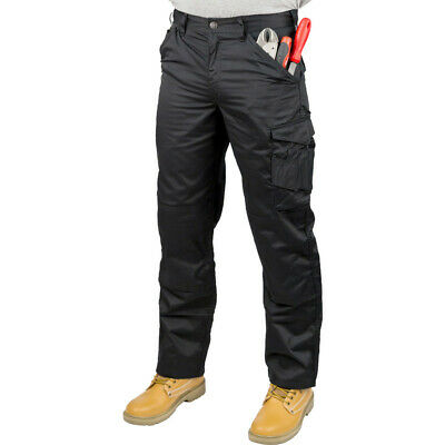 SCRUFFS WORKER GRAPHITE NAVY BLACK MULTI POCKET WORK TROUSERS (All Sizes) TRADE • 12.95£