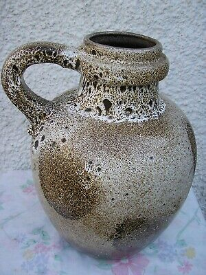 Large Vintage West German Scheurich Floor Vase  Lava  Vase/Jug. 486 -38. • 39.99£